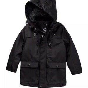 Urban Republic Black Ballistic Lined Rain Jacket